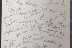 2020-09-25 Unterschriftenblatt der Teilnehmer der Hauptversammlung