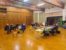 Turnratssitzung in der Halle