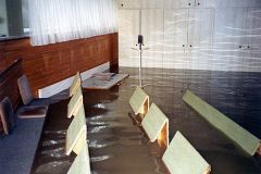 1997 Hochwasser Probelokal, Turnerheim