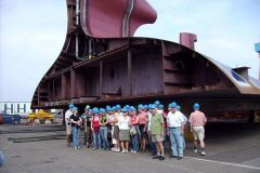 2006-06-14 Riese nach Kiel, HDW Werft