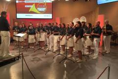 2019-01-31 ORF OÖ Landesstudio, Finale Aufweckbläser