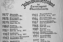 Die zweite Jahnwanderfahne, 1974-1992