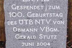 2004 Eiche, Obmann Stutz