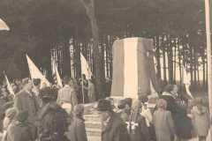 1957-11-10 Enthüllung der neuen Gedenktafel