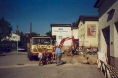 2003-07-21 Der Bau beginnt