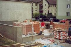 2003-07-26 Der Bau geht voran