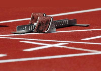 Leichtathletik mit Profis