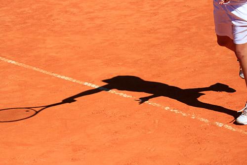 Tennis Platzstunden