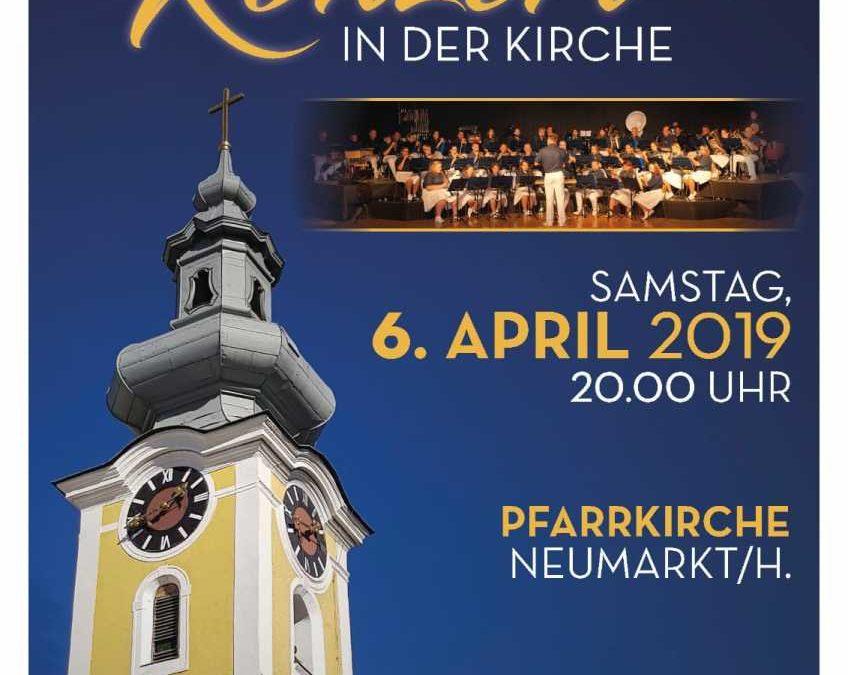 Konzert Spielmannszug, Pfarrkirche